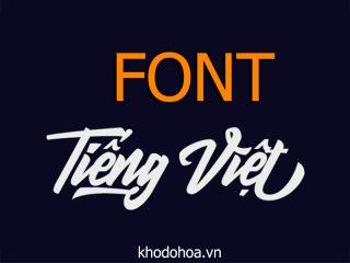 Tổng hợp font tiếng việt đẹp